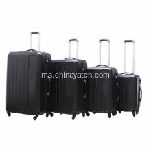 4pcs ABS Hard Luggage Trolley Luggage Set